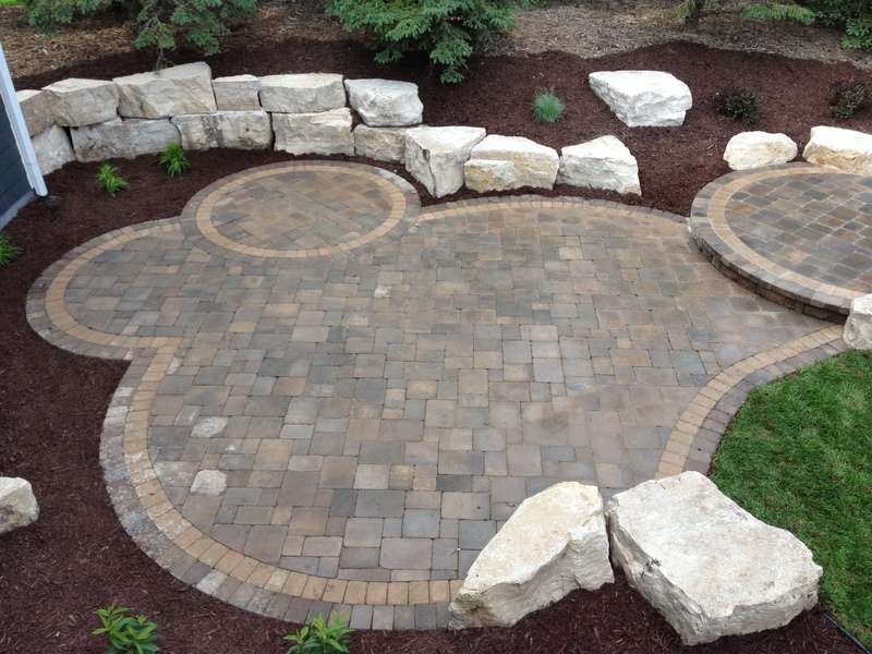 Hardscaping Dry Garden Landscaping Ideas : Groundwrx landscape hardscape design maple grove mn