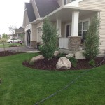 Plymouth Landscape Design and Paver Patio Design 07